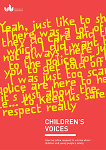 Children's Voices Research Report Children and young people's perspectives on the police's role in safeguarding young people