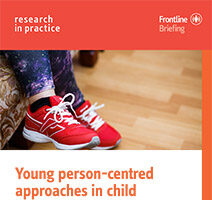 Young person centred approaches in CSE promoting participation and building self efficacy